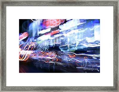 City Motion 6092 Framed Print by Igor Kislev