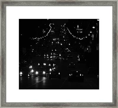 City Nights Framed Print by Empty Wall