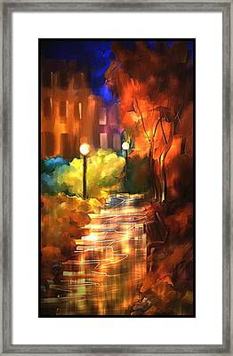 City Nights Framed Print by Steven Lebron Langston