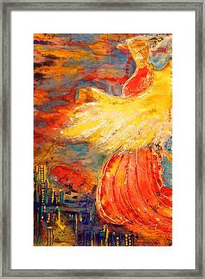 City Of An Angel Framed Print