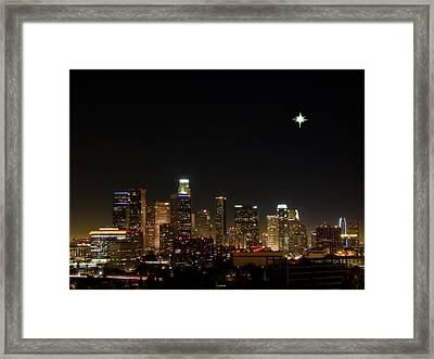 City Of Angels Framed Print