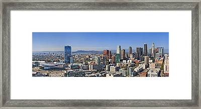 City Of Angels Framed Print by Kelley King