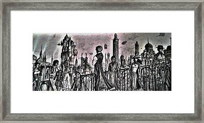 City Of Babel  Framed Print by George Harrison