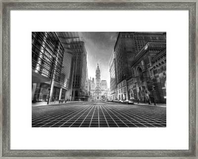City Of Brotherly Love Framed Print by Lori Deiter