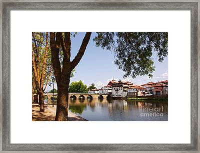 City Of Chaves Framed Print by Carlos Caetano