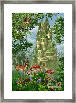 City Of Coins Framed Print