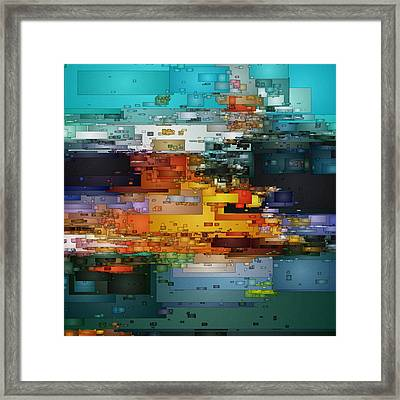 City Of Color 1 Framed Print