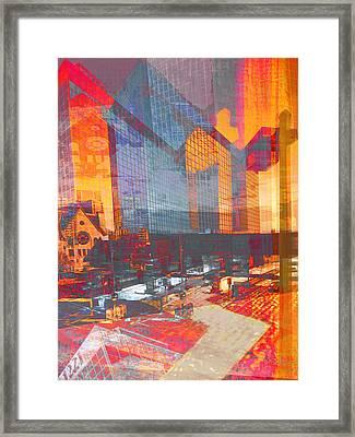 City Of Color Framed Print