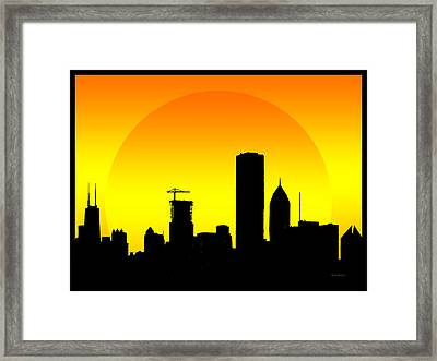 City Of Dreams Framed Print