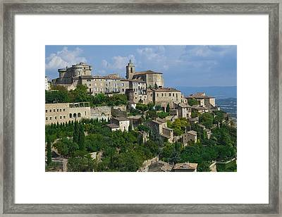 City Of Gordes Framed Print