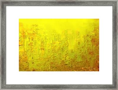 City Of Joy 2013 Framed Print
