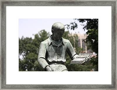 City Of Learning Framed Print by Ken West