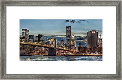 City Of Lights Framed Print