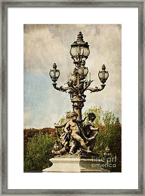 City Of Lights Framed Print by Mary Machare