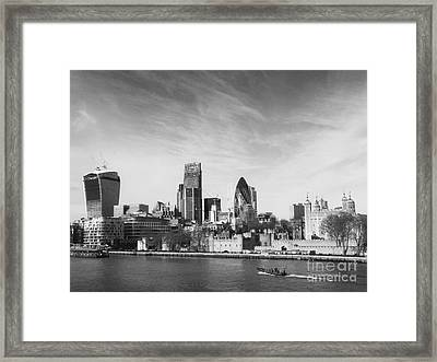 City Of London  Framed Print by Pixel Chimp