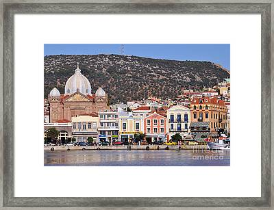 City Of Mytilini Framed Print