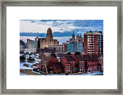 City Of Neighbors  Framed Print