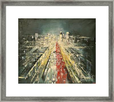 City Of Paris Framed Print