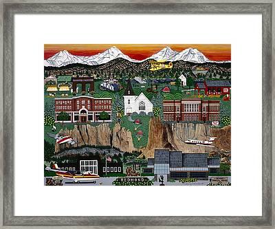 City Of Redmond Framed Print