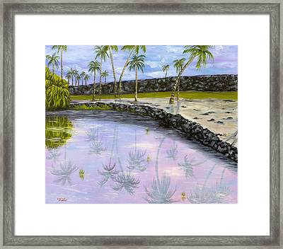 City Of Refuge Reflections Framed Print by Darice Machel McGuire