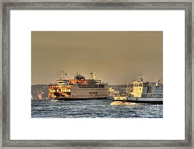 City Of Ships Framed Print