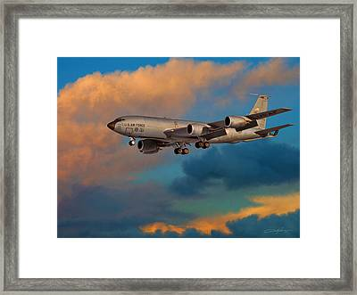 City Of Spokane Returns Home Framed Print by Dale Jackson