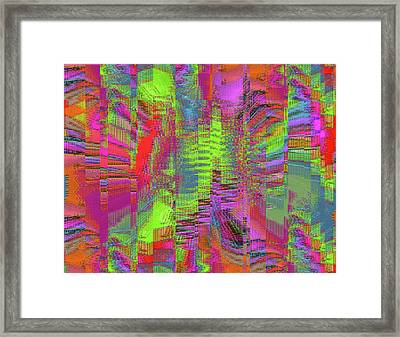 City Of Stairways Framed Print
