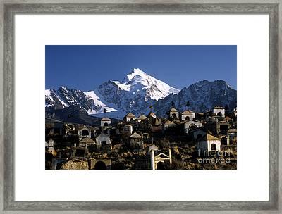City Of The Dead Framed Print by James Brunker