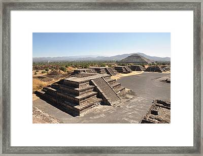 City Of The Gods Framed Print