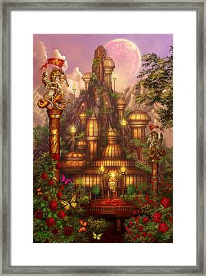 City Of Wands Framed Print