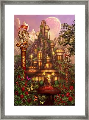 City Of Wands Framed Print