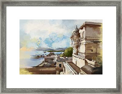 City Palace Framed Print