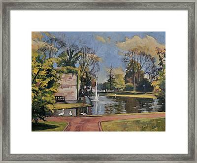 City Park Maastricht Framed Print