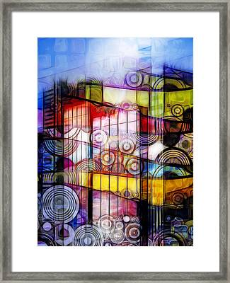 City Patterns 1 Framed Print