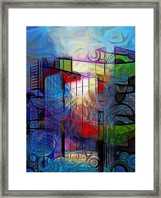 City Patterns 2 Framed Print by Lutz Baar
