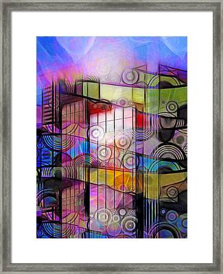 City Patterns 3 Framed Print