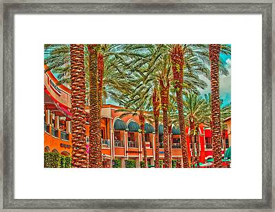 City Place Framed Print