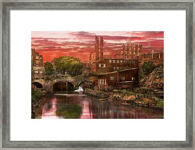 City - Richmond Va - After The Fighting Stopped - 1865 Framed Print