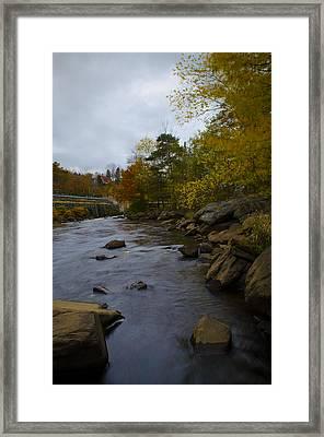 City River 2 Framed Print by Julie Smith