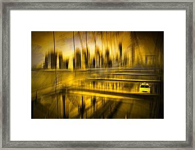 City-shapes Nyc Framed Print