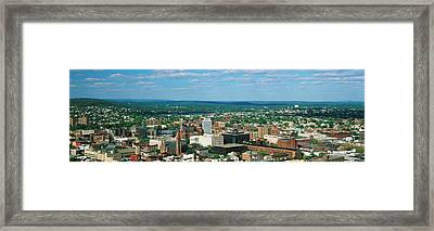 City Skyline, New Jersey Framed Print by Panoramic Images