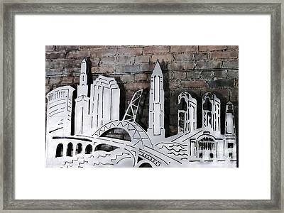 City Skyline Framed Print by Patricia Januszkiewicz