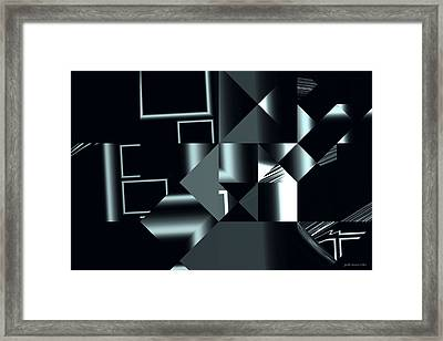 City Smart Framed Print by Judi Suni Hall