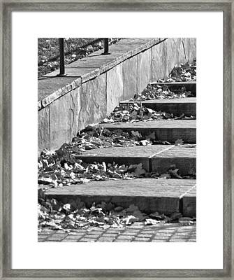 City Steps 3 Framed Print by Angelina Vick