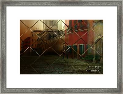 City Street Framed Print by Liane Wright