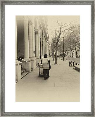 City Streets 2 Framed Print