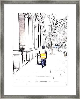 City Streets 3 Framed Print