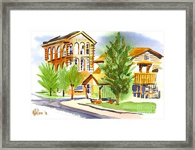 City Streets Framed Print by Kip DeVore