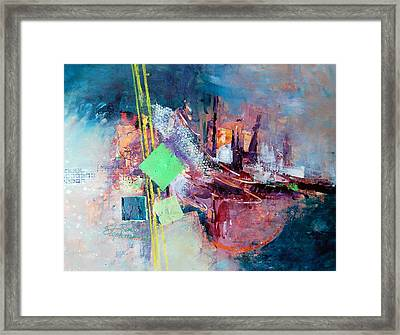City Sunrise Framed Print by Ron Stephens