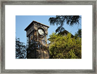City Time  Framed Print